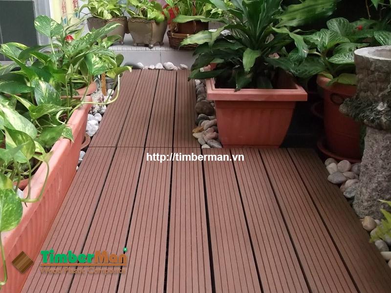 Sàn gỗ Timberman hạn chế trơn trượt, đảm bảo an toàn cho người sử dụng