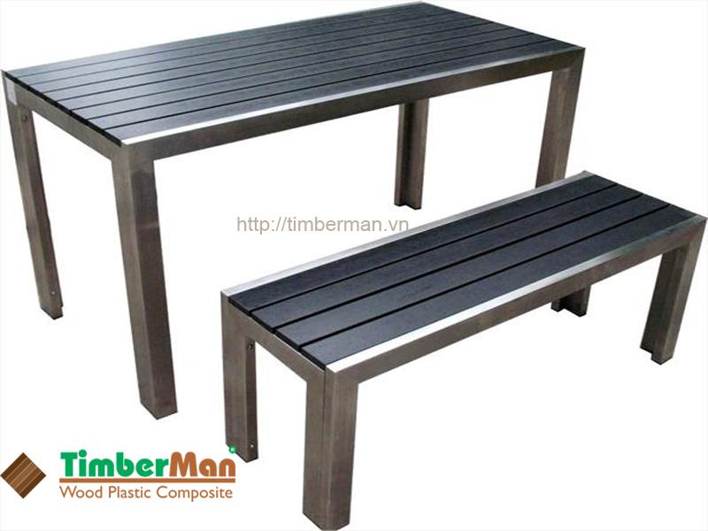 Bàn ghế ngoài trời có độ bền cao