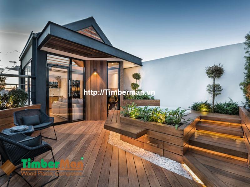 Ốp tường ngoài trời giúp mang lại vẻ đẹp hoàn mỹ cho ngôi nhà