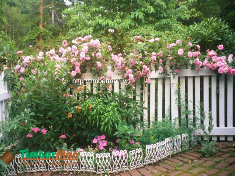 Hàng rào ngoài trời được phân phối bởi Janhome