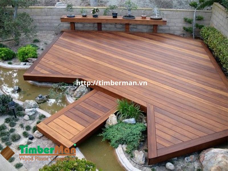 Sàn gỗ ngoài trời BioWood không bị ảnh hưởng từ môi trường