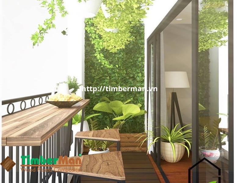 Một không gian nhỏ để thưởng trà và ngắm cảnh sau những giờ làm việc vất vả