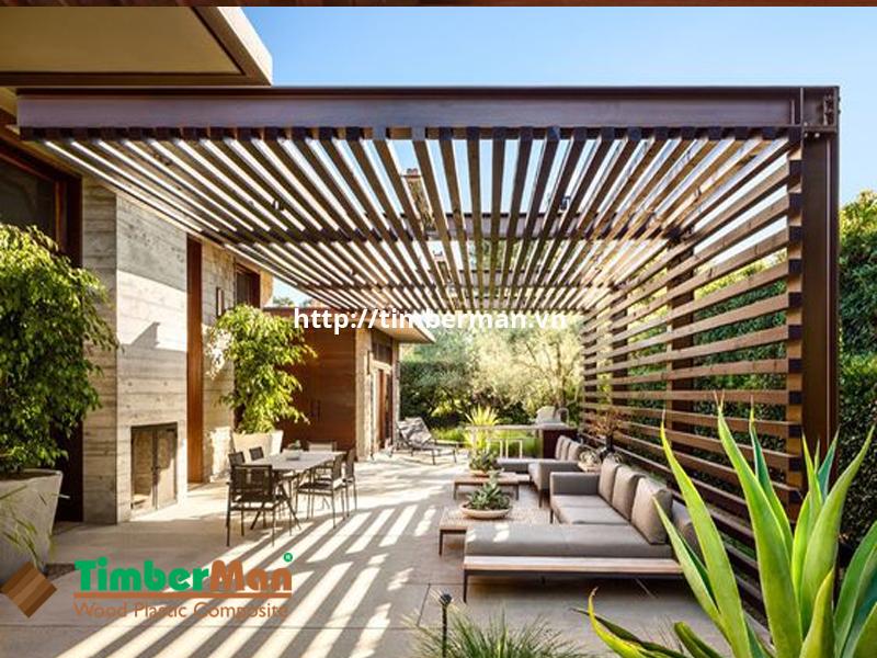 Lam gỗ che nắng giúp bảo vệ ngôi nhà bền đẹp trong thời gian dài