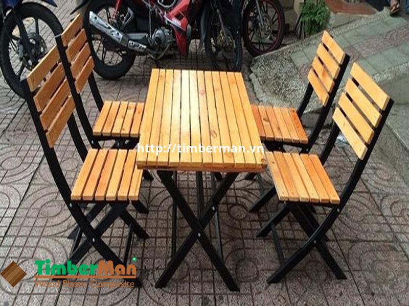 Mẫu bàn ghế ngoài trời được yêu thích năm 2021